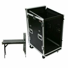 16 Space DJ ATA Road Rack Case w/Mixer Top - Table Lid By OSP