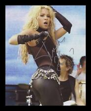 SHAKIRA AUTOGRAPHED SIGNED & FRAMED PP POSTER PHOTO
