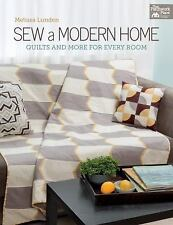 Sew a Modern Home: Quilts and More for Every Room, Lunden, Melissa, New Books