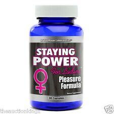 Staying Power RX Female Orgasm Booster Increase Sex Drive & Energy