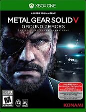 Metal Gear Solid V: Ground Zeroes Video Game for XBOX ONE