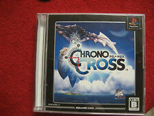 Chrono Cross  (Sony PlayStation 1, 2000) Japanese Gem Mint Complete SquareSoft