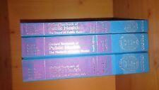 LIBRO di testo Oxford della salute pubblica (3 volumi, 4th Ed) - EX Libro della Biblioteca, MOLTO BUONO