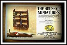 DOLL HOUSE OF MINIATURES CHIPPENDALE HANGING SHELF KIT, ANTIQUE REPLICA, SALE!!