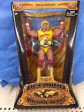 WWE HULK HOGAN Defining Moments Figure Classic Superstar WWF Hulkamania Legend