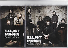 "Elliot Minor - Parallel Worlds - Scarce 2008 4 track Limited Edition 2x 7"" set"