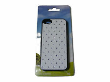 WHITE DIAMANTE FAKE DIAMOND IPHONE 5 MOBILE PHONE CASE IPHONE5  - NEW