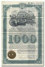 Long Island Electric Railway Company Bond Certificate