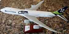 New SEATTLE SEAHAWKS/BOEING 747-8 1:200 Scale Hogan Airplane Model-FREE SHIPPING