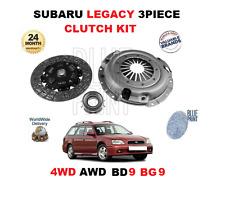 FOR SUBARU LEGACY 2.5i 4WD AWD BD9 BG9 2457cc 1993-1998 NEW CLUTCH KIT 3 PIECE