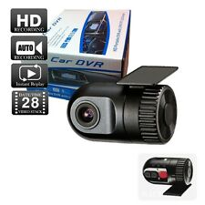 HD Dash Cam DVR Video Recorder Car Camera, G Sensor, and Microphone 12V