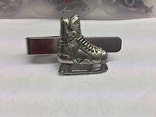 Ice Hockey Boot Sport PP-SP13 English Pewter Emblem on a Tie Clip 4cm long
