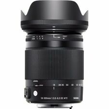 SIGMA 18-300mm F3.5-6.3 DC MACRO OS HSM CONTEMPORARY FOR PENTAX & BONUS 16GB SD