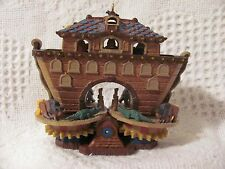 Christmas Hallmark Keepsake 2006 NOAH'S ARK Magic Turn Crank Animals Move