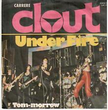 """3378-08  7"""" Single: Clout - Under Fire"""
