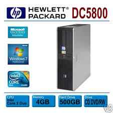 HP Compaq DC5800, INTEL E8400 DUAL 3.0GHz * 4GB * 500GB * Win 7 PRO * DVD RW