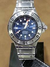 Momo Design Watch - Mens Automatic Stainless Steel - MD-006-03BL-CM