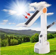 Solar Lamp LED Torch Light FM Radio Dynamo Speaker Battery Charger For Cellphone