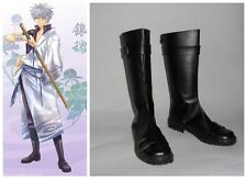 Gintama Sakata Gintoki Cosplay Costume Boots Boot Shoes Shoe