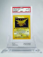 PSA 10 GEM MINT 1st Edition HOLO Zapdos Pokemon Fossil Set #15/62