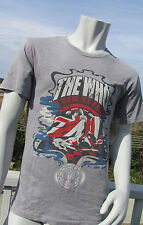 NEW M The Who Rock and Roll hall of fame t-shirt Inductee Collection gray flag