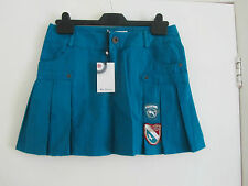 Teal Green Cotton Mini Skirt by Ben Sherman in Size XS / 8 - BNWT - Waist 29""