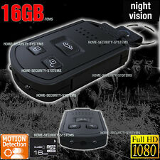 Portable Video Camera 16GB Home Security Car Key Remote mini 1080P no SPY Hidden
