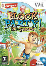 BLOCK PARTY 20 GAMES for Nintendo Wii - PAL