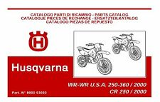 Husqvarna Parts Manual Book 2000  WR 360 & WR 360 U.S.A.