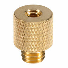 "3/8"" Male To 1/4"" Female Brass Screw Tripod Thread Adapter UK Seller"