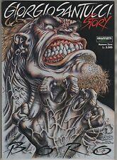 GIORGIO SANTUCCI STORY numero zero BORO graffietti editrice 1996 N.0 1a edizione