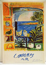 CPM REPRODUCTION AFFICHE ANCIENNE / CANNES / PICASSO