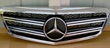 Mercedes Benz S Class W221 Front Grille Special Obsidian Black & Chrome Edition