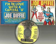 JOE DIFFIE I'm in love with a capital U SPECIAL EXTENDED MIX PROMO DJ CD Single