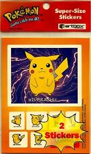 POKEMON STICKER, PIKACHU, IVYSAUR & OTHERS, VINTAGE ARTBOX NINTENDO, 1999