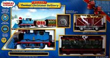 Bachmann G Scale Train (1:22.5) Set Thomas The Tank Christmas Delivery 90087