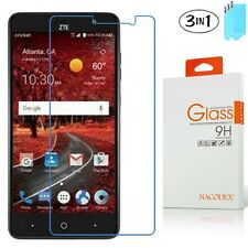 3x Nacodex For ZTE Grand X4 Z956 (Cricket) HD Tempered Glass Screen Protector