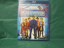Night at the Museum: Battle of the Smithsonian (Blu-ray/DVD, 2009, 3-Disc Set, I