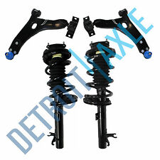 (4) Front Complete Ready Strut + Lower Control Arm & Ball Joint Ford Exc. SVT