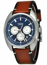NEW Fossil CH3045 Men's Drifter Chronograph Light Brown Leather watch