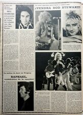 ROD STEWART / Neil DIAMOND =  1 page 1979  Spanish CLIPPING !!!