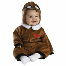 Red Baron Pilot Baby Costume Toddler ( Size 12-18 Months ) 4545