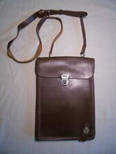 Soviet Russian Army military officer leather map bag case tablet planshet