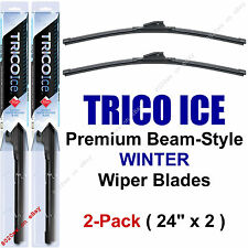 "2-Pack Trico ICE 35-240 24"" WINTER Wiper Blades Super-Premium Beam Wiper Blades"