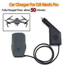 Battery Car Charger Adapter for DJI Mavic Pro Drone Quadcopter 13.2V 6A Airplane