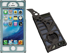 TCAP1G Tacticall Alpha 1 Charcoal Iphone 5 Case W/ Knife & Bottle Opener Measure