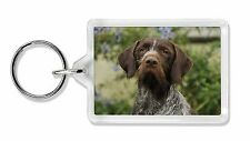 German Wirehaired Pointer Photo Keyring Animal Gift, AD-GWP1K