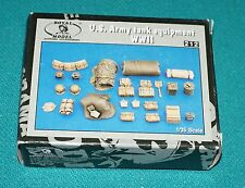 U.S. Army Tank Equipment WWII No. 212 Royal Model 1/35 Detail Set Complete.