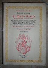GIULIANO KREMMERZ - IL MONDO SECRETO. VOLUME 1 - 1982 REBIS (PG)