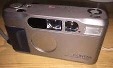 Contax T2 35mm Compact Film Camera, with original case